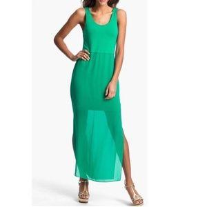 NWOT Vince Camuto Sea Green Maxi Dress XL